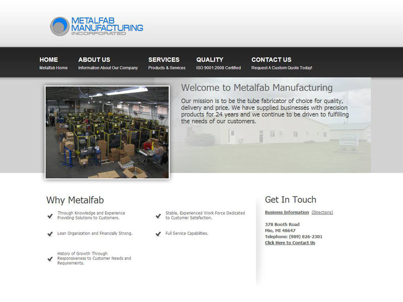 Metalfab Manufacturing, Inc
